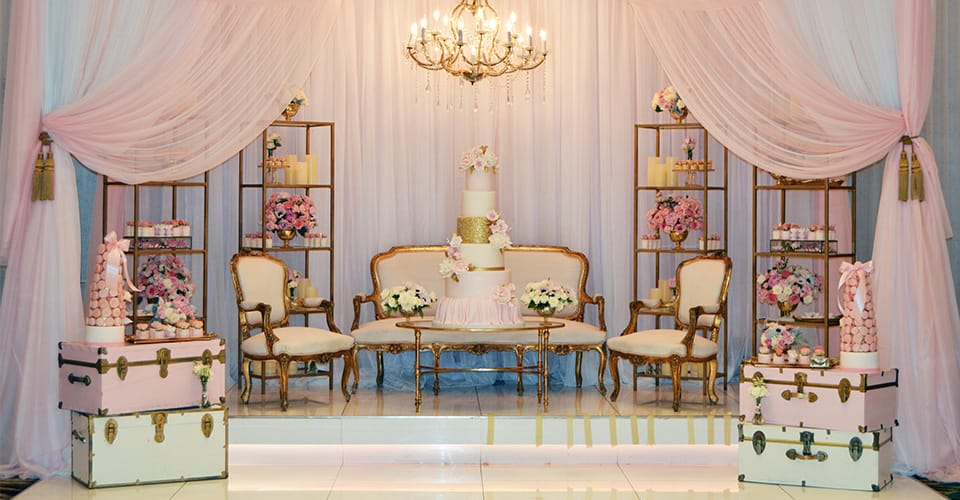 Renaissance Banquet Hall - Millennium Ballroom - Customize the Venue