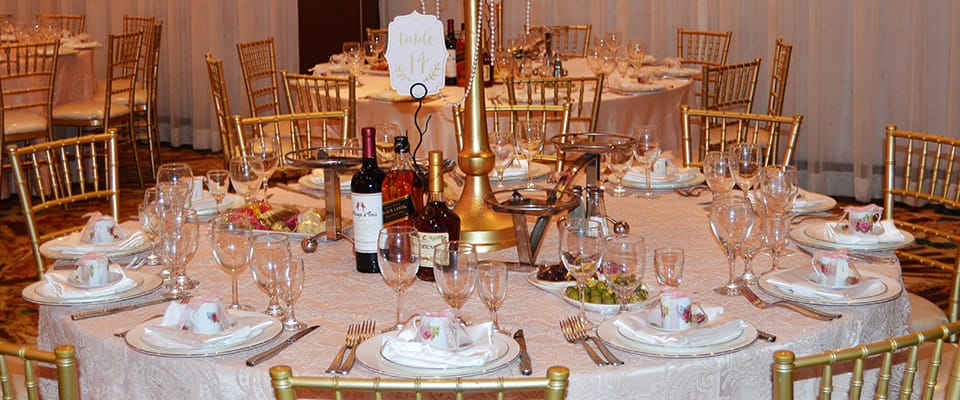 Renaissance Banquet Hall - Millennium Ballroom Dining Options