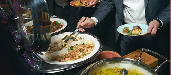 Renaissance Banquet Hall - Dining - Buffet Style